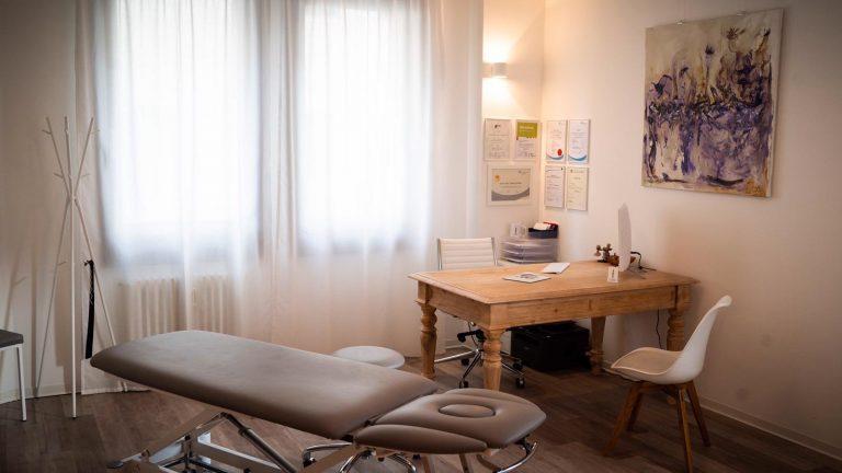 Behandlungsraum Osteopathie Sven van IJsselmuiden in Stuttgartselmuiden